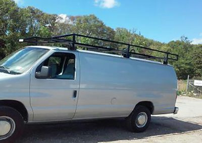 Work Van with Custom Welding