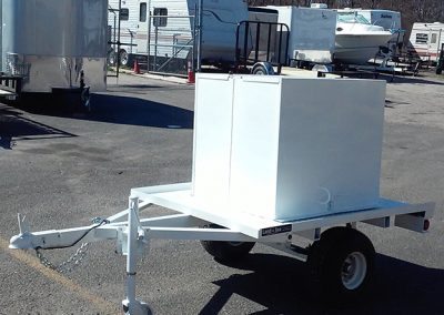 enclosed and utility trailers
