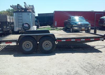 flatbed on a hitch