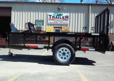 flatbed trailer hitch